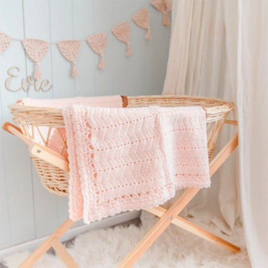 O.B Designs - Crochet Baby Blanket