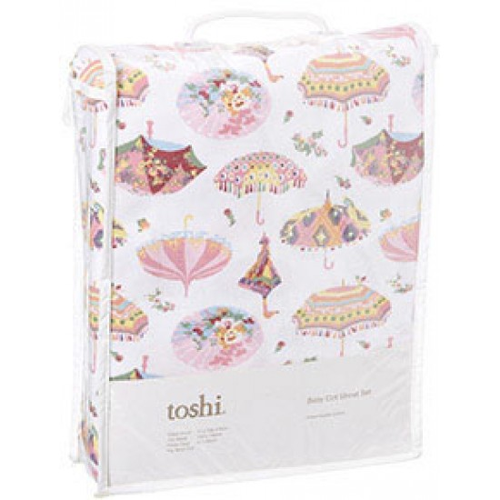 Toshi Cot Sheet Set Knit Jersey