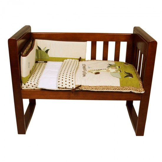 Amani Bebe Cradle Bedding Set 3pce - Wild Things