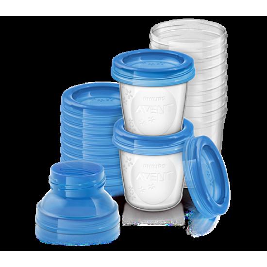 Avent Breast Milk Storage 180mL 10 Pack