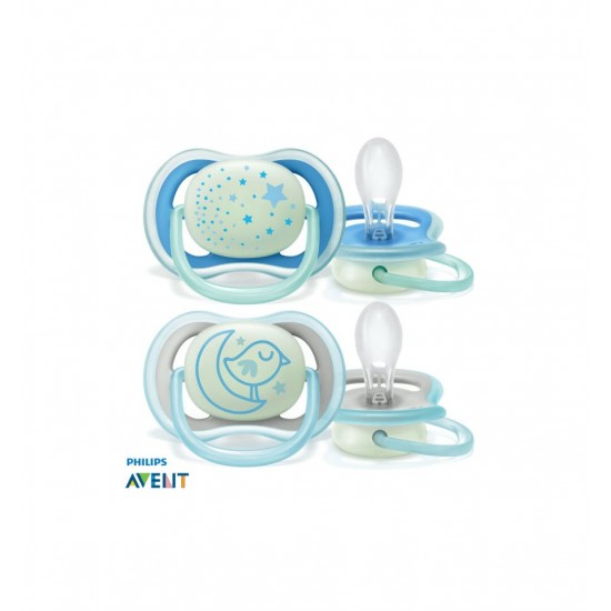 Avent Ultra Air Night Soother 6-18m 2pk