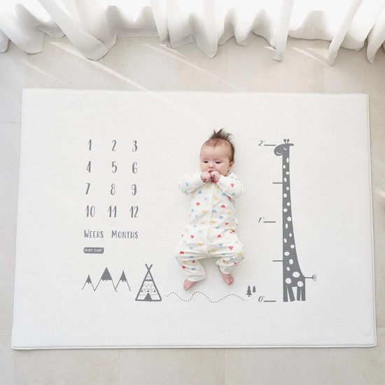 Baby Care Milestone Mat - Mono