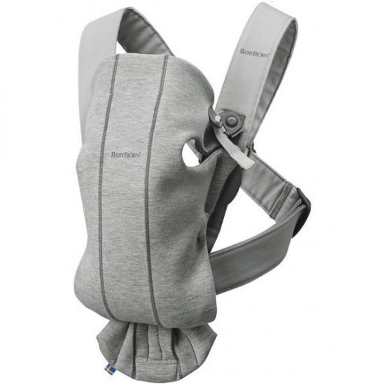 BabyBjorn Baby Carrier Mini Light Grey 3D Jersey