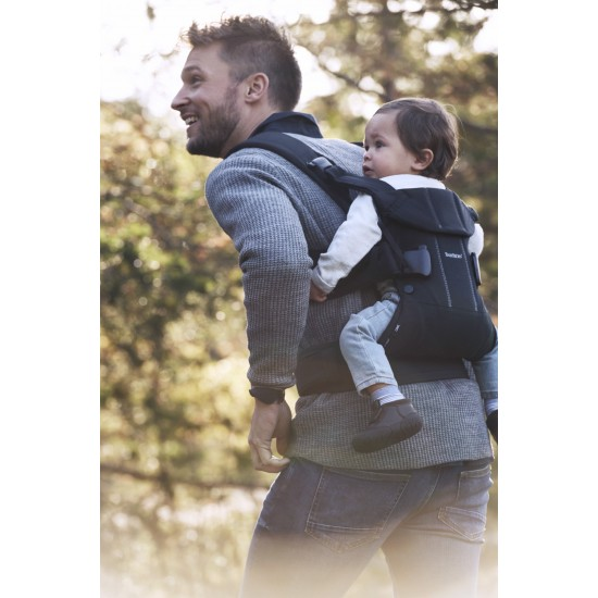 BabyBjorn One Carrier Cotton - Black