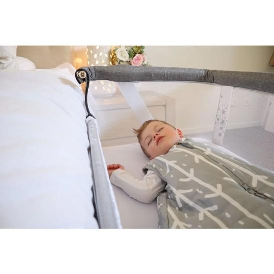 Babystudio Bedside Sleeper - Wood Grain