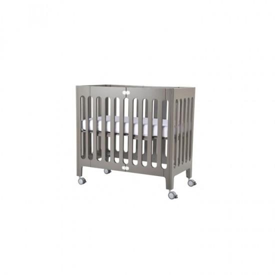 Bloom Alma Mini Crib in Grey