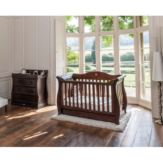 Boori Sleigh Royale Cot Bed + Sleigh 3 Drawer Dresser PACKAGE