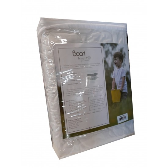 Boori Oval Cot Fitted Mattress Protector (121 x 69cm)