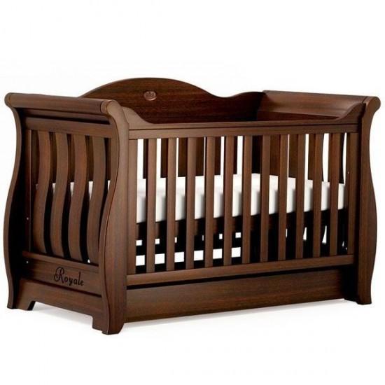 Boori Sleigh Royale Cot Bed V19 + Boori Breathable Mattress