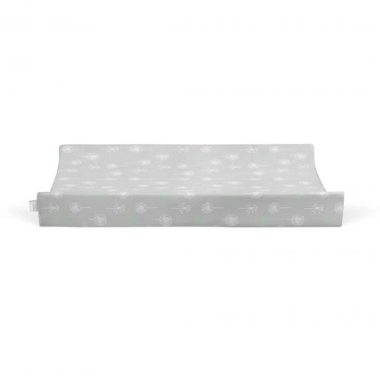 Bubba Blue Bamboo Jersey Waterproof Change Mat Cover - Mint Meadow