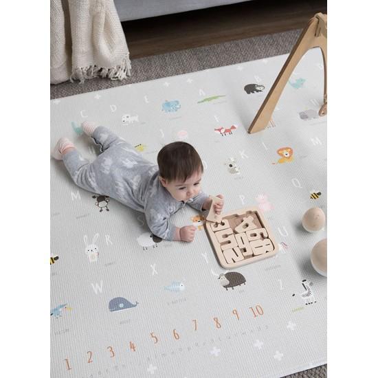 Bubba Mat Dusk Grey Baby Play Mat - Extra Large