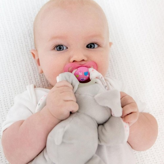 Bubble Pacifier Holder - Bella the Bunny
