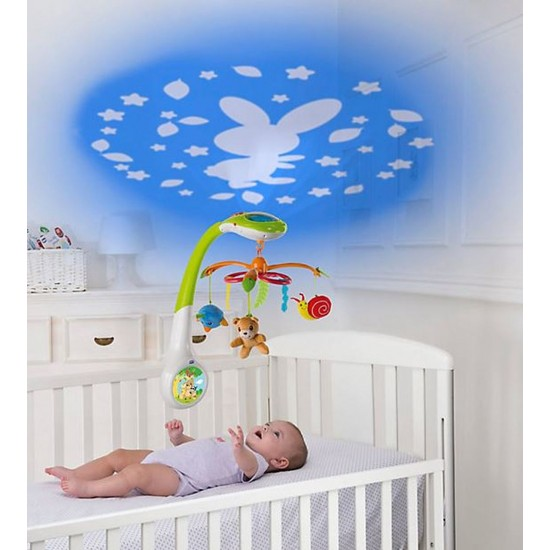 Chicco Magic Forest Mobile Cot Projector
