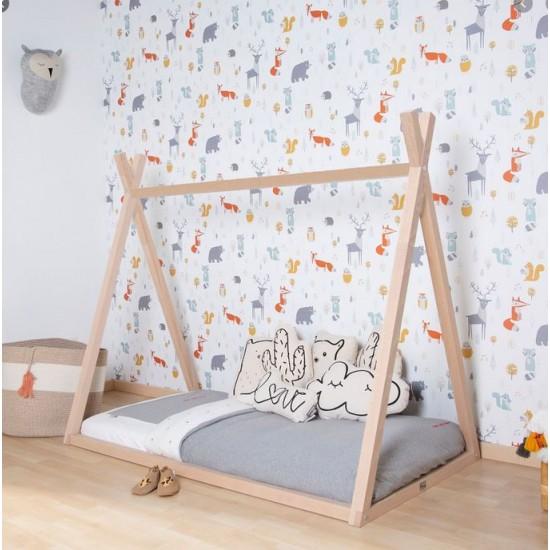 Childhome Tipi Junior Bed - Natural
