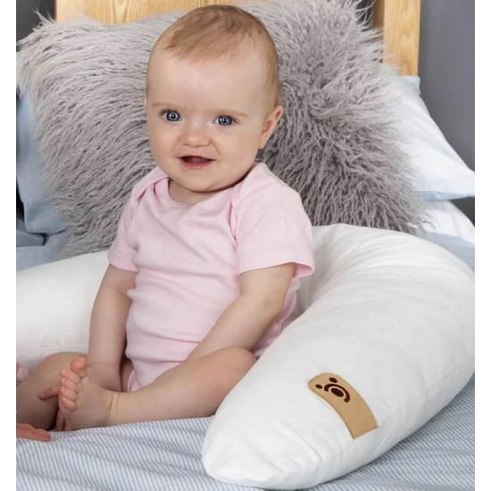 Cuddle Co V Shape Pillow & Wedge 5-In-1 Set