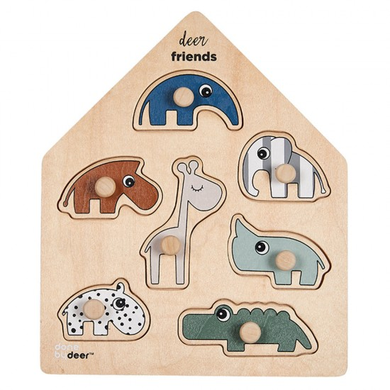 Done by Deer Friends Peg Puzzle