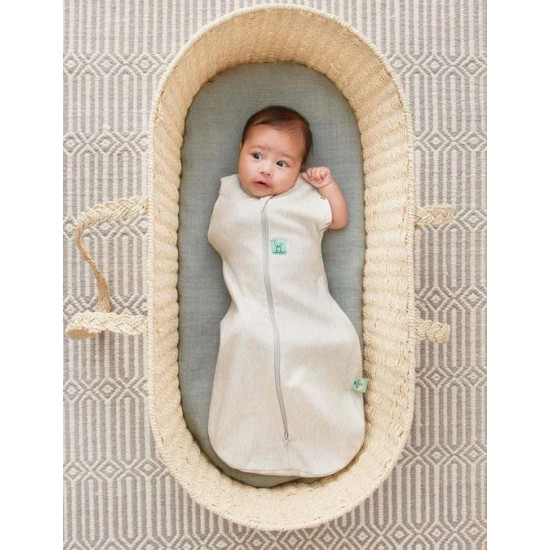 ergoPouch Cocoon Swaddle Bag (1.0 Tog) - Grey Marle