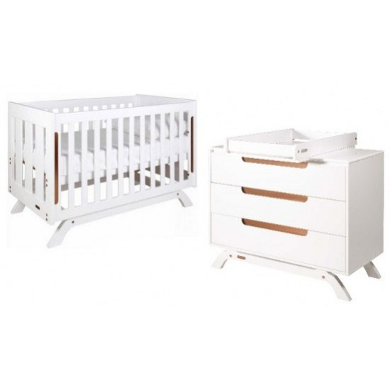 Grotime Retro Cot, Chest and Crest Changer Top Package