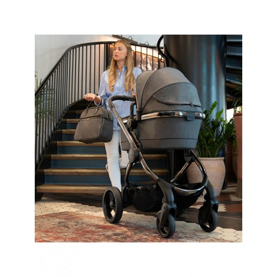 iCandy Peach 2020 Pram in Grey Twill