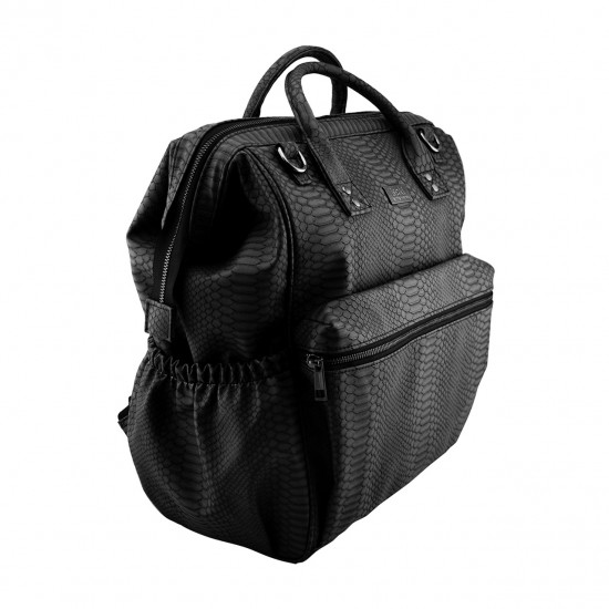Isoki Byron Backpack - Black Mumba
