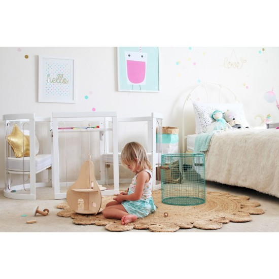 Kaylula Sova Clear 5 in1Cot + Mattress Package