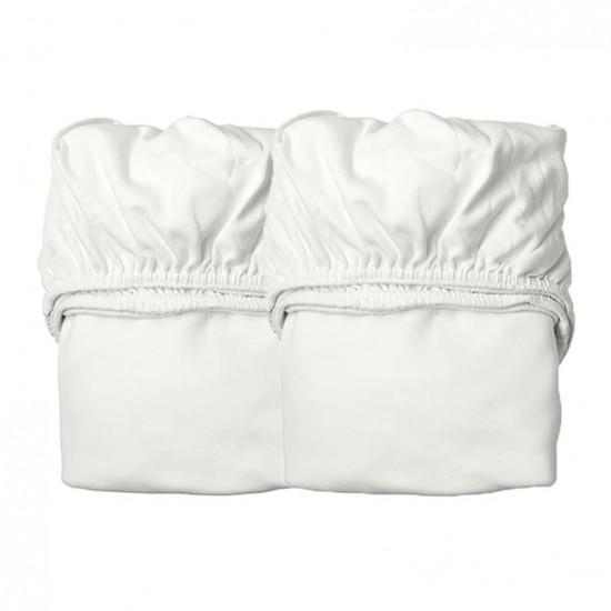 Leander Organic Cot Sheets 2pk