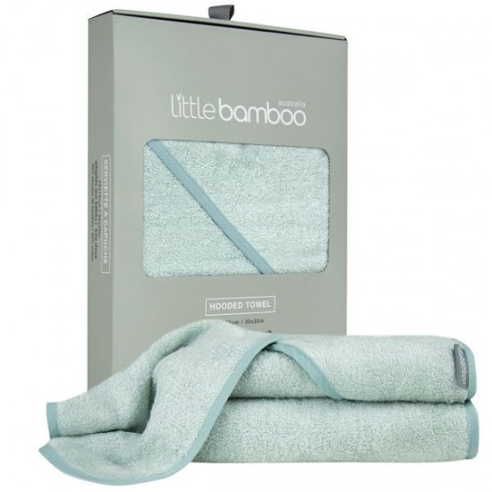 Little Bamboo Hooded Towel - Whisper