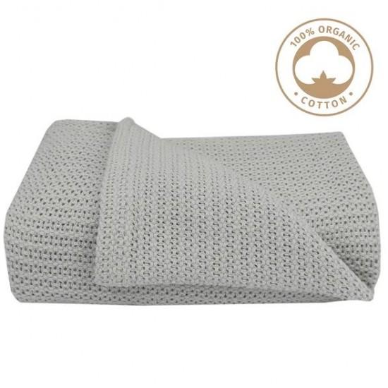 Living Textiles Organic BASSINET Cellular Blanket