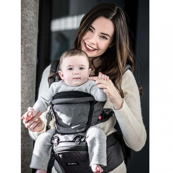 MiaMily Hipster Plus 3D Baby Carrier