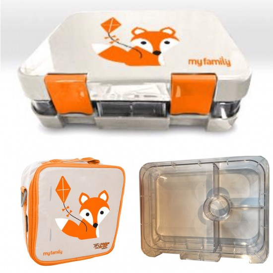 My Family Super Bento Lunchbox- Fox