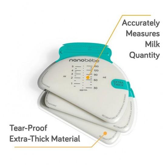 Nano Bebe Breastmilk Storage Bags and Organiser