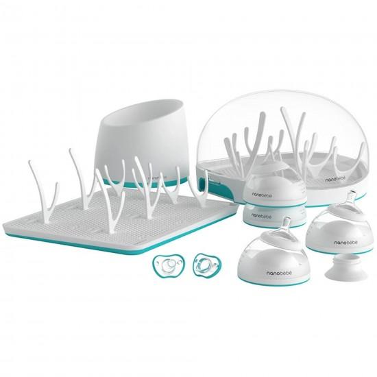 Nano Bebe Newborn Gift Set - Teal