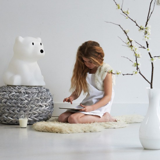 Mr Maria Nanuk Polar Bear Lamp (42cm)
