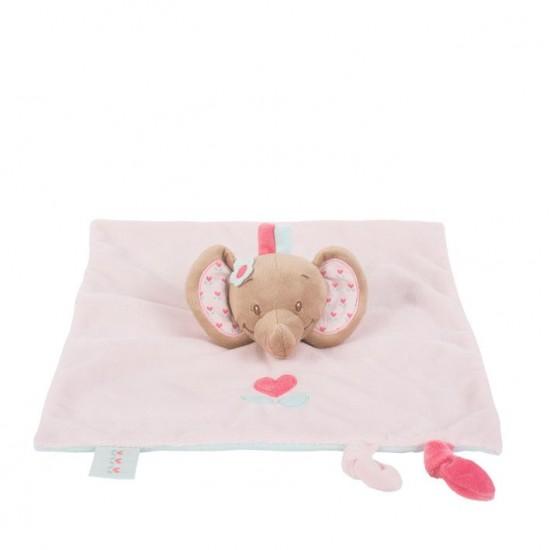 Nattou Doudou Comforter - Elephant