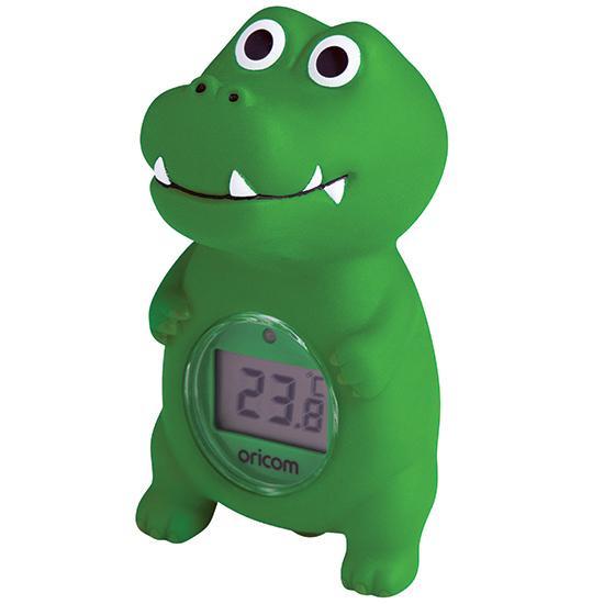 Oricom 02SCR Digital Bath and Room Thermometer - Crocodile