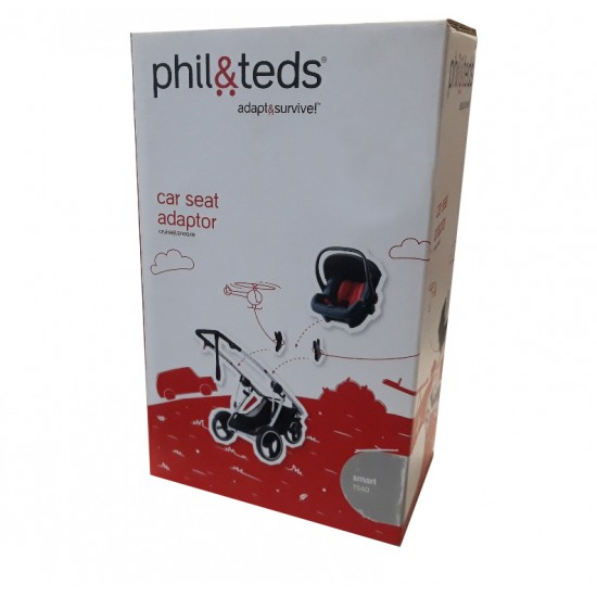 Phil & Teds Smart TS40 Car Seat Adaptor