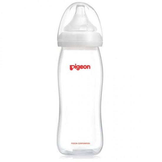 Pigeon Softtouch Peristaltic PP 240ml Bottle