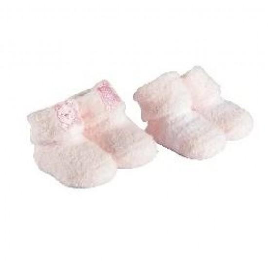 Playette Chenille Bootie Socks 0-3M 2pk