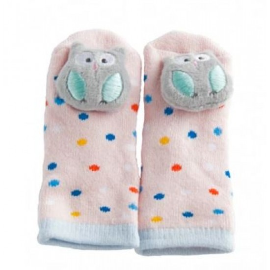 Playette Novelty Rattle Toes 3-12 months - Owl