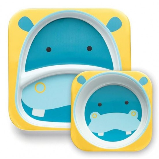 Skip Hop Zoo Tabletop Melamine Set