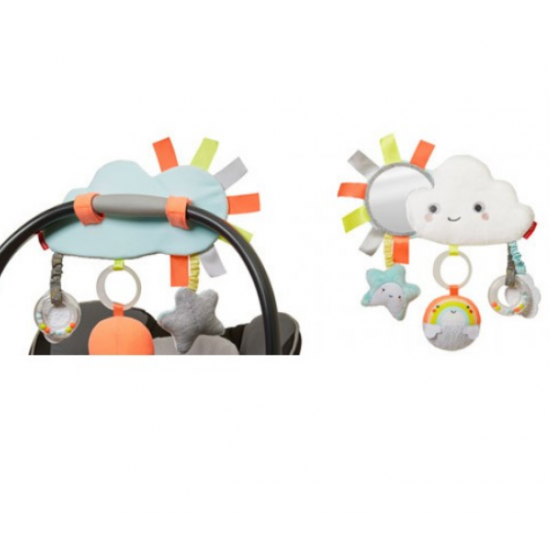 Skip Hop - Silver Lining Cloud Stroller Bar Toy