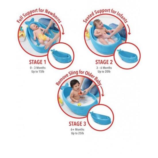 Skip Hop - Moby Bath Smart Sling - 3 Stage Bathtub