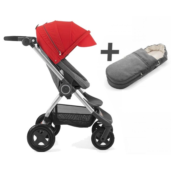 Stokke Scoot V2 Stroller with Soft Bag