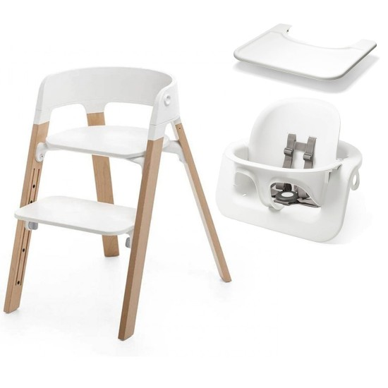 Stokke Steps High Chair + Baby Set + Tray
