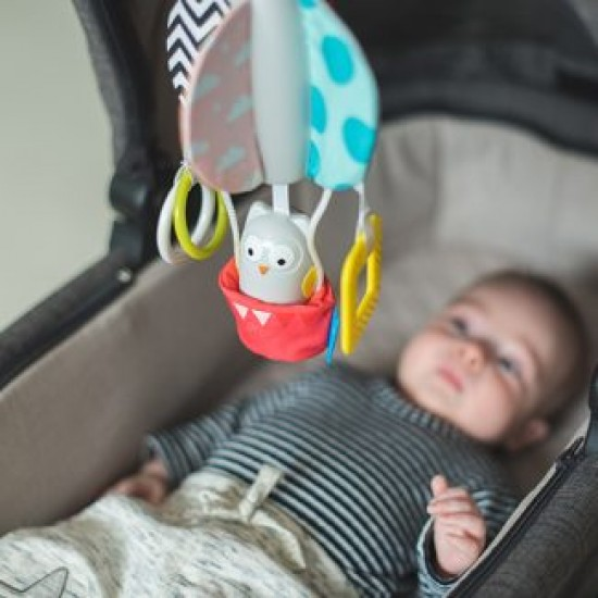 Taf Toys Obi Owl Chime Bell Mobile