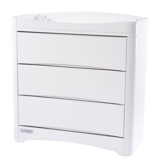 Tasman Eco Opera Chest of Drawers White