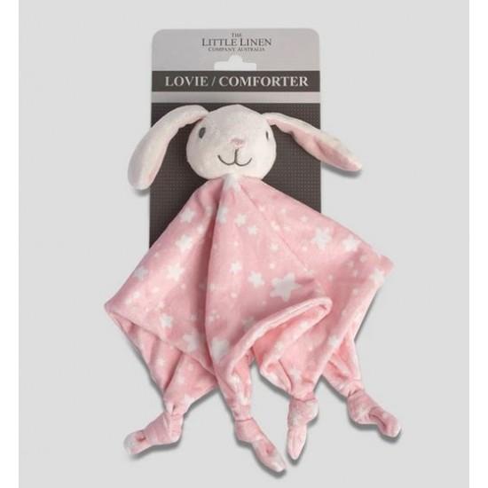 The Little Linen Company Lovie/Comforter Ballerina Bunny