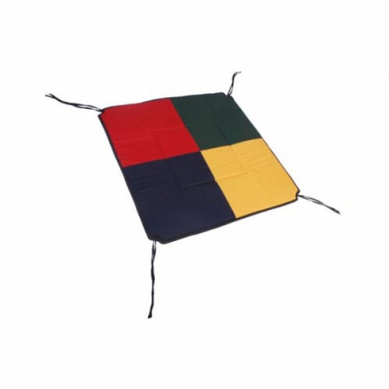 TikkTokk POKANO Fabric Floor Mat - SQUARE Colourful