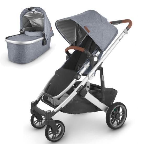 UPPAbaby CRUZ V2 Stroller + Carrycot/Bassinet