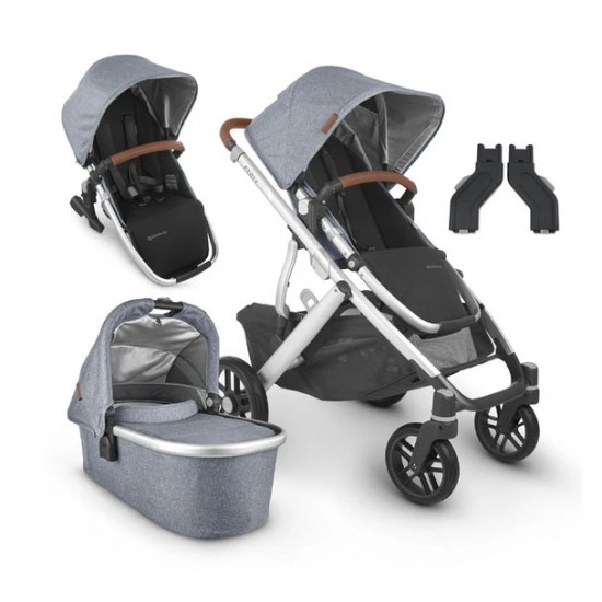 UPPAbaby VISTA V2 With Bassinet & Rumble Seat